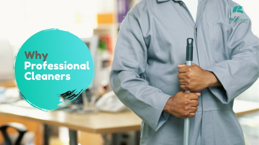Why hire a professional cleaning company over an individual cleaner?